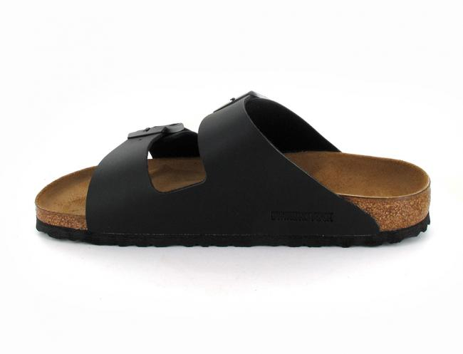 black birkenstock-arizona-birko-flor-narrow side
