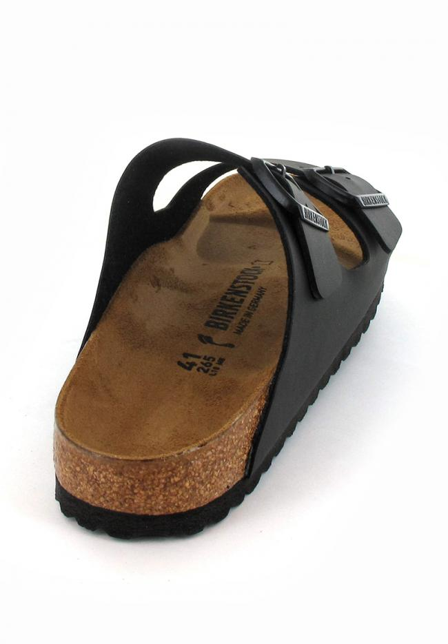 black birkenstock-arizona-birko-flor-narrow back