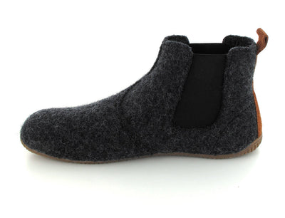 anthracite Living Kitzbühel Chelsea Boot Slippers side