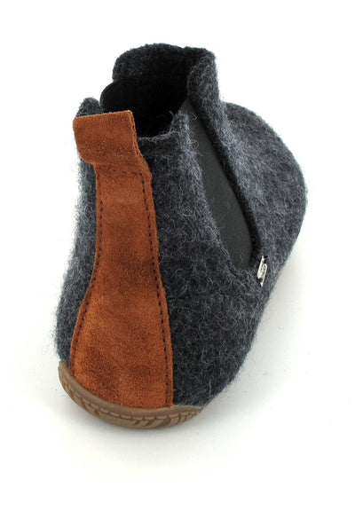 anthracite Living Kitzbühel Chelsea Boot Slippers back