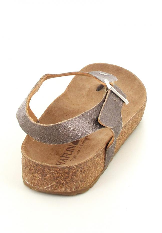 bronze haflinger-closed-thong-sandals-cosima back