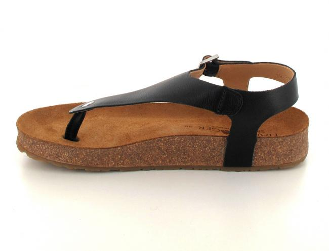 black haflinger-closed-thong-sandals-cosima side