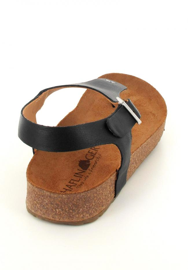 black haflinger-closed-thong-sandals-cosima back