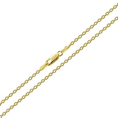 18' Gold Cable Chain