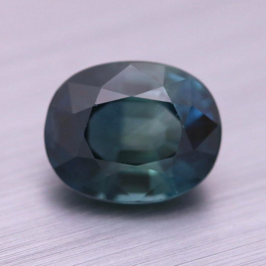 3.45ct Oval Mixed Cut Sapphire