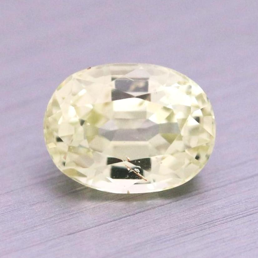 1.97ct Oval Mixed Cut Sapphire