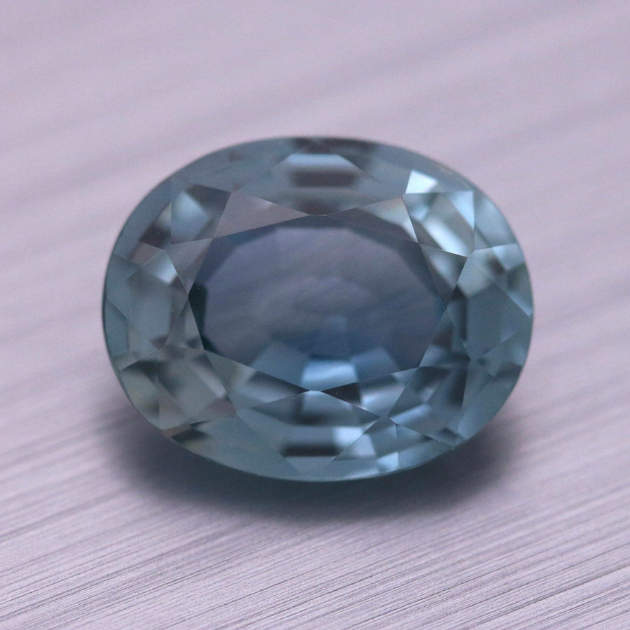 4.67ct Oval Mixed cut Sapphire