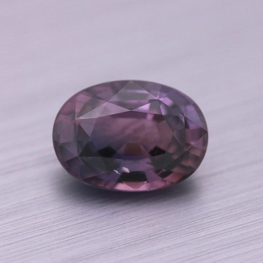 4.18ct Oval Mixed cut Sapphire