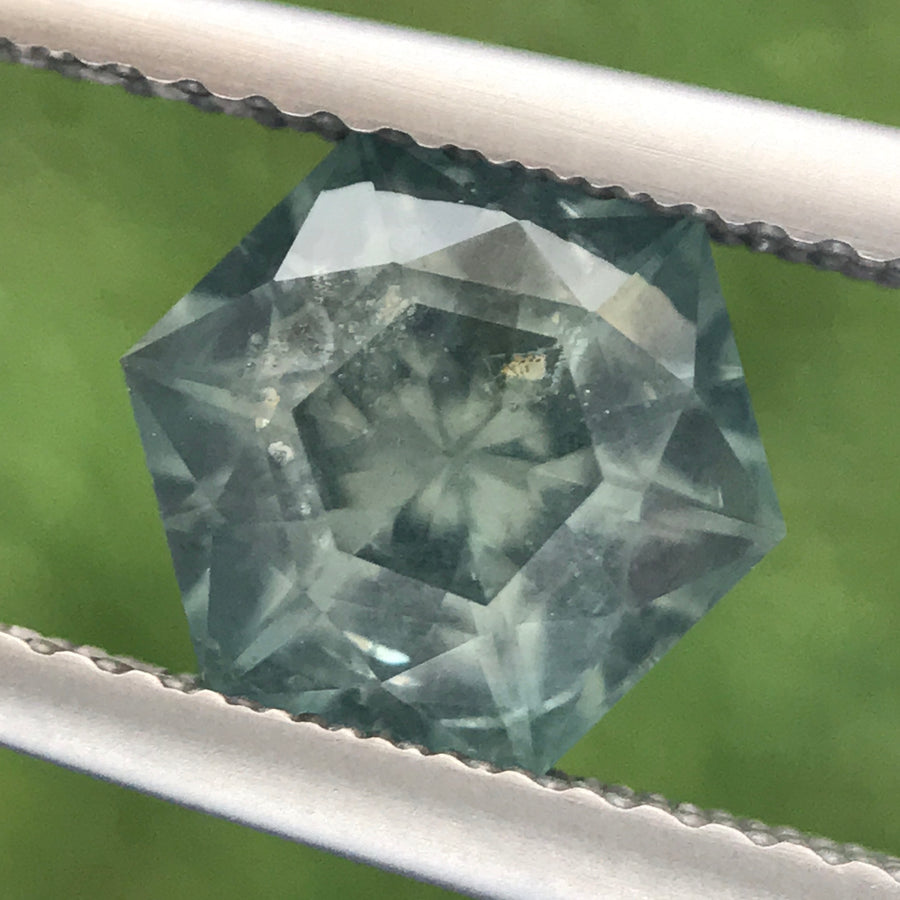 2.52ct Hexagon Brilliant Cut Sapphire