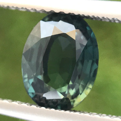 2.53ct Oval Mixed Cut Sapphire