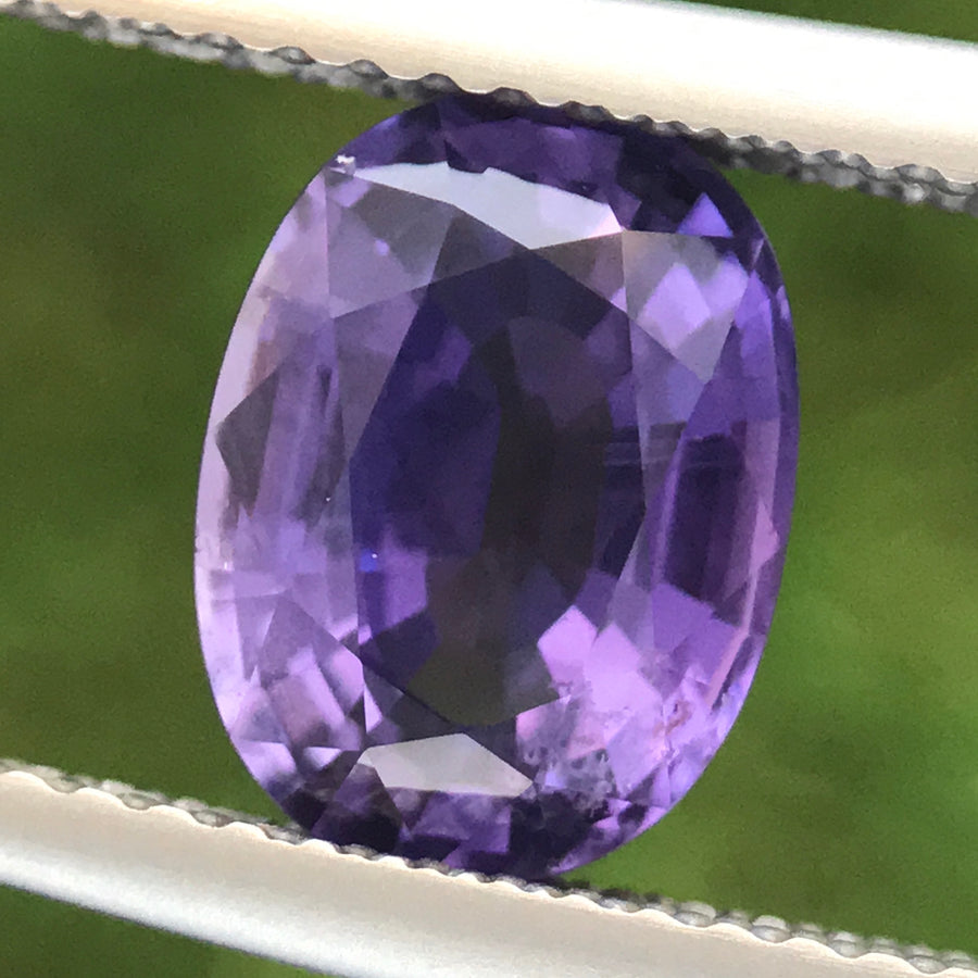 2.52ct Oval Mixed Cut Sapphire