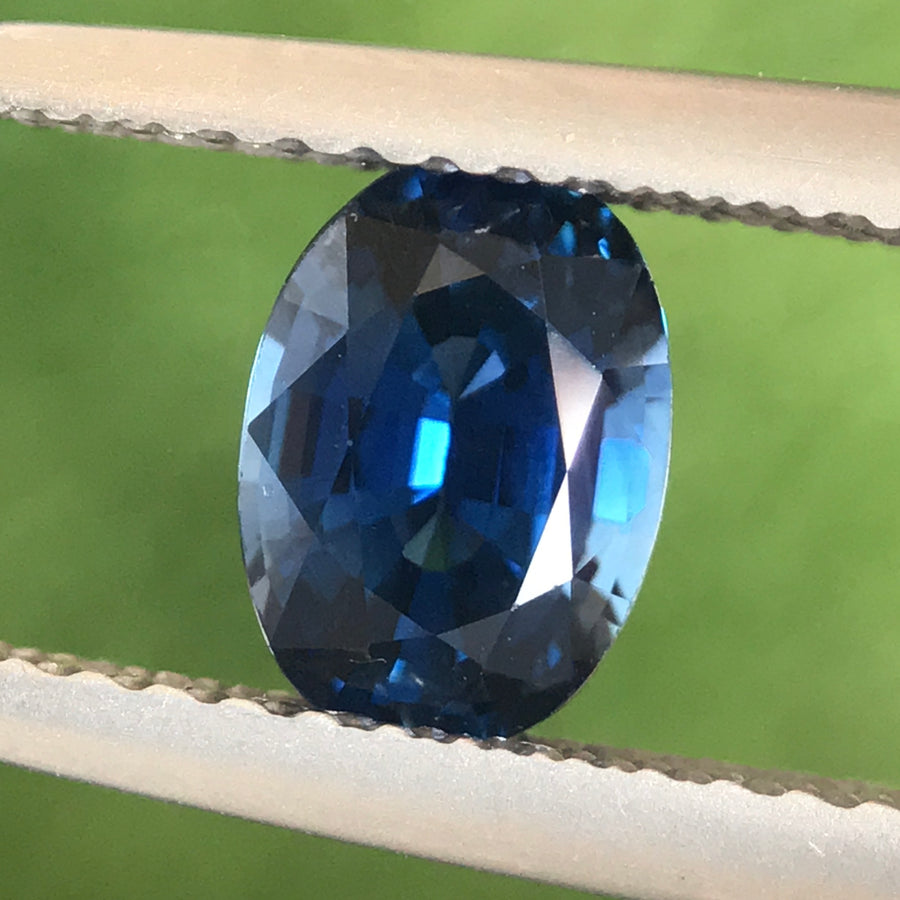 1.12ct Oval Mixed Cut Sapphire