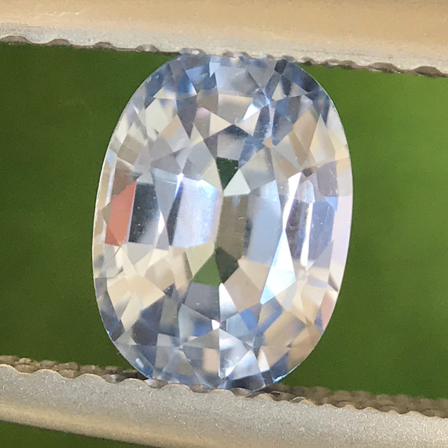 1.18ct Oval Mixed Cut Sapphire