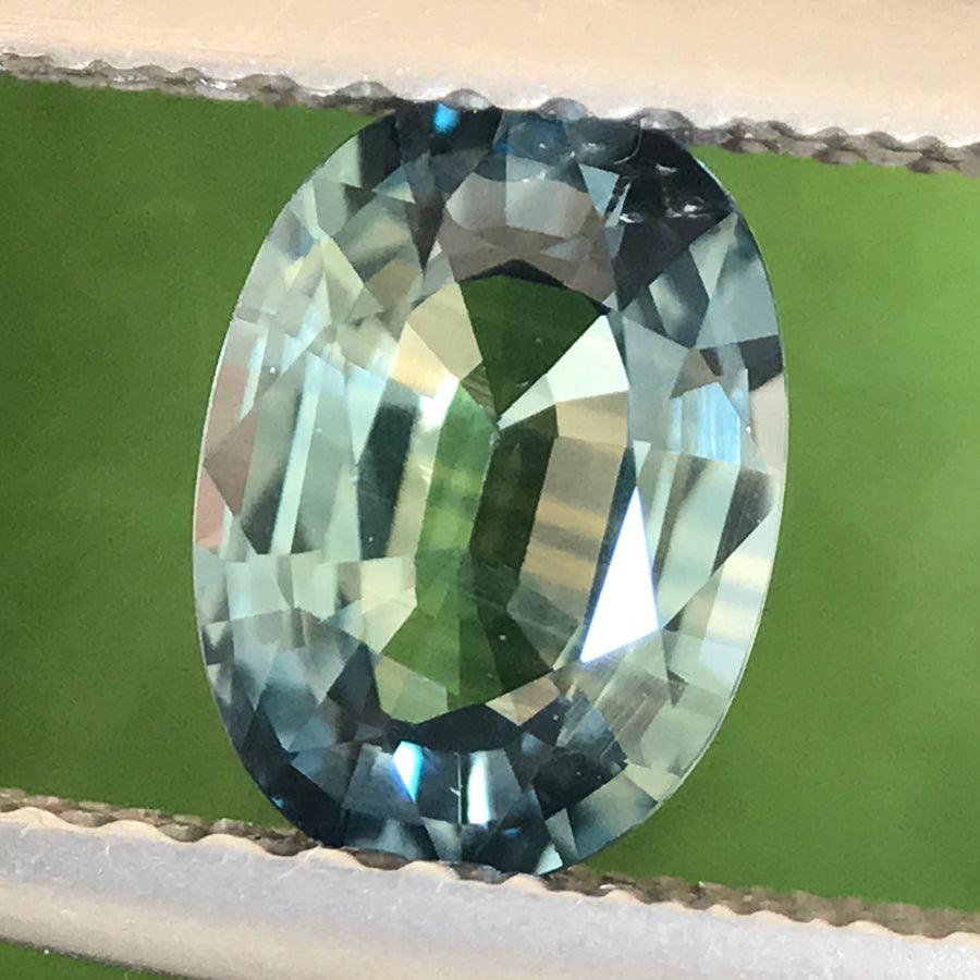 1.13ct Oval Mixed Cut Sapphire
