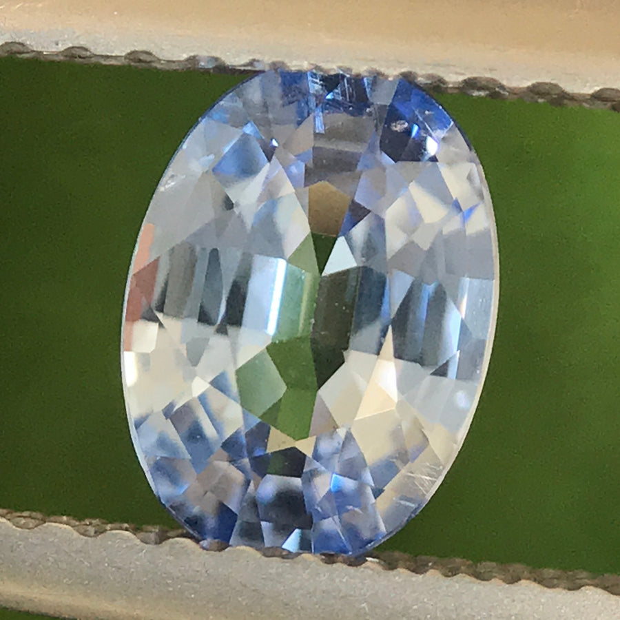 0.91ct Oval Mixed Cut Sapphire