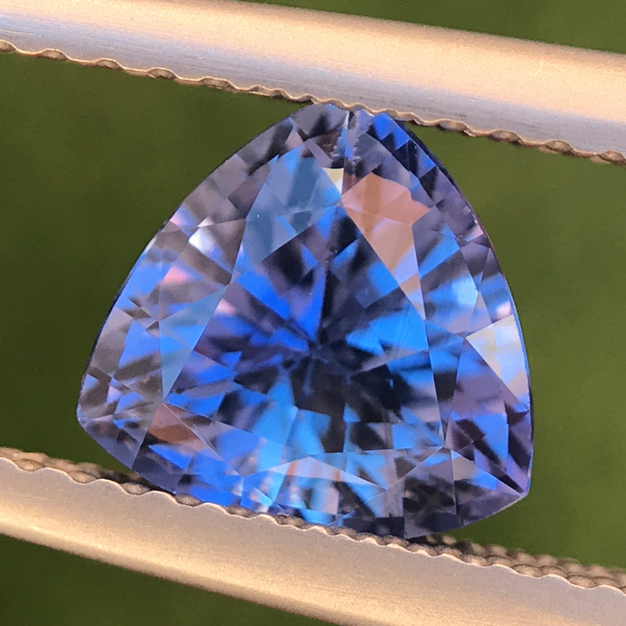 1.52ct Trillion Mixed Cut Sapphire