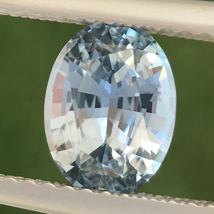 1.72ct Oval Mixed Cut Sapphire