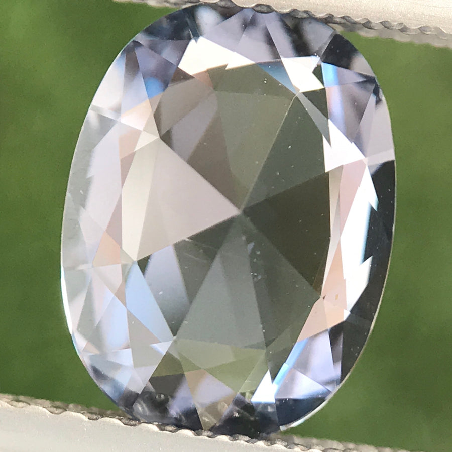 2.59ct Oval Rose Cut Sapphire