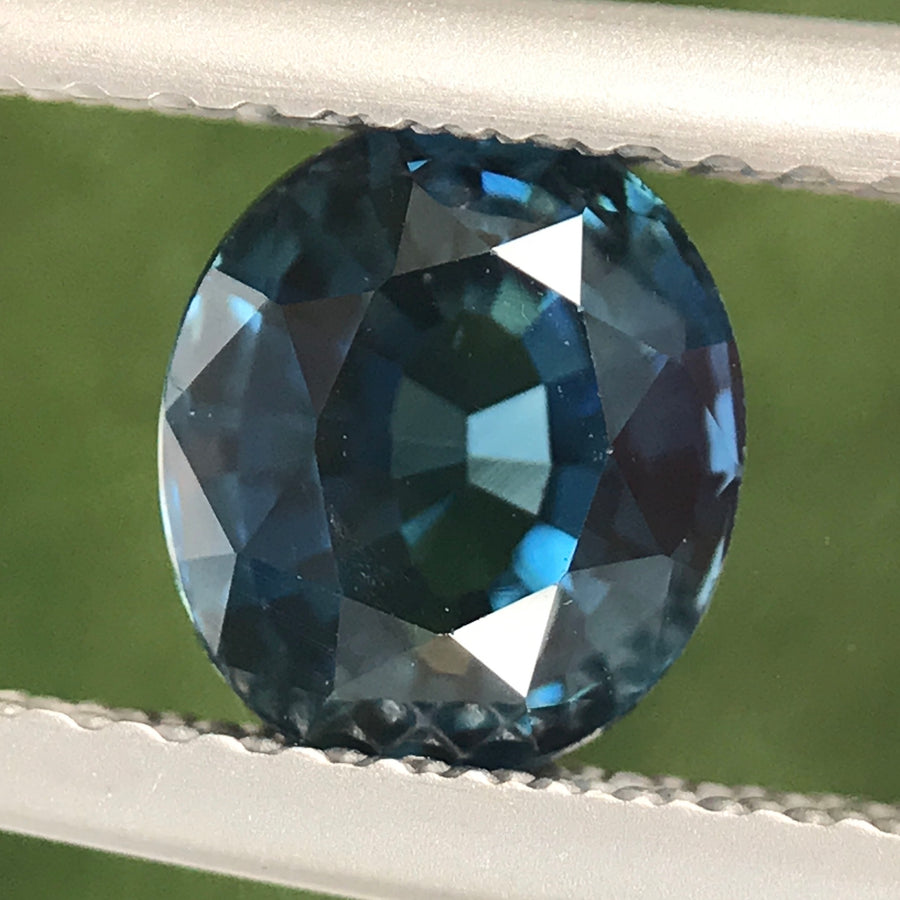 1.53ct Oval Mixed Cut Sapphire