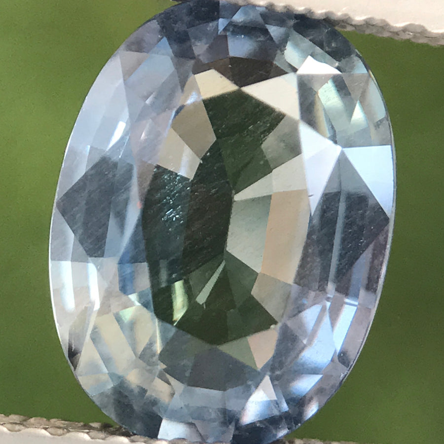 2.96ct Oval Mixed Cut Sapphire