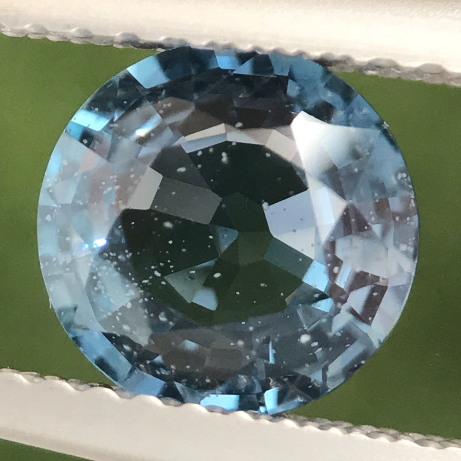 1.61ct Round Mixed cut Sapphire