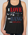 I love to BANG Womens Tank - 2atees1