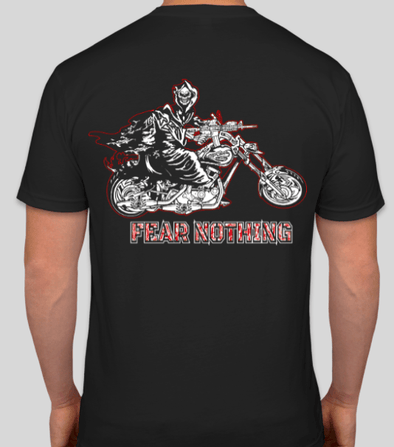 REAPER FEAR NOTHING BIKER