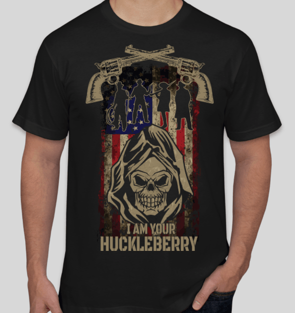 I AM YOUR HUCKLEBERRY - 2atees1