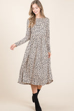 Load image into Gallery viewer, Kara Long Sleeve Midi Dress