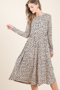 Kara Long Sleeve Midi Dress