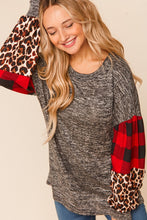 Load image into Gallery viewer, Mckenna bubble sleeve top- Sizes Small-3X