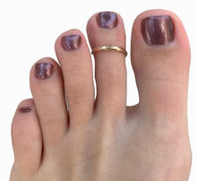 Load image into Gallery viewer, 1MM Small Gold Fill Toe Ring