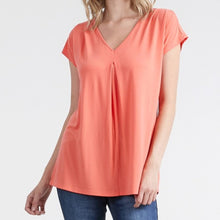 Load image into Gallery viewer, Coral soft v-neck