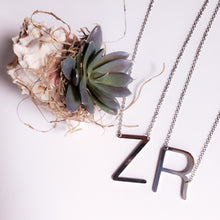 Load image into Gallery viewer, Large Letter Necklace
