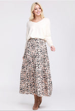 Load image into Gallery viewer, Leopard Prairie Skirt S-3X