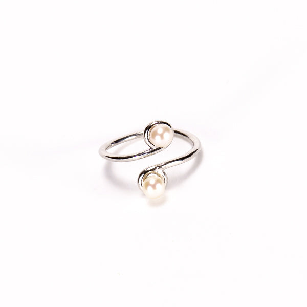Pearl Adjustable Toe Ring