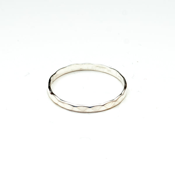 Beveled Toe Ring