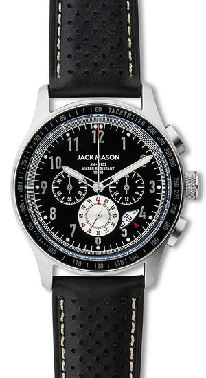 Jack Mason Racing Chronograph Leather 42mm