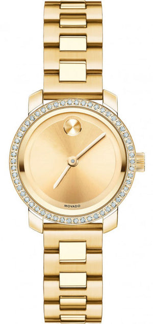 Movado Bold Diamond Mini Gold/SS 3600215