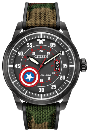 Citizen Eco-Drive Captain America