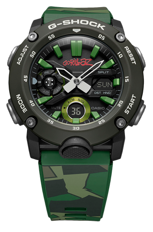 Casio G-Shock Gorillaz LTD GA2000GZ