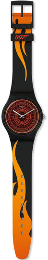 Swatch x 007 James Bond The World Is Not Enough 1999