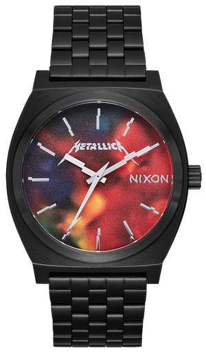 Nixon Time Teller Metallica Hardwired A0453109