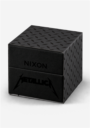 Nixon Sentry Leather Metallica Black Album A1053101