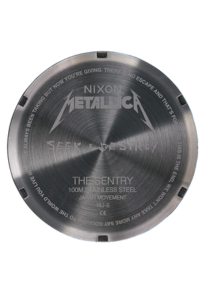 Nixon Sentry Leather Metallica Seek & Destroy A1053106