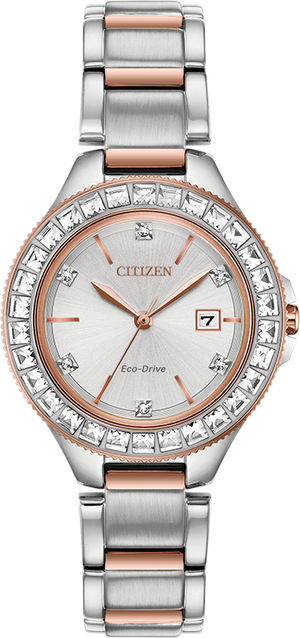 Citizen Eco-Drive Silhouette Crystal FE1196-57A