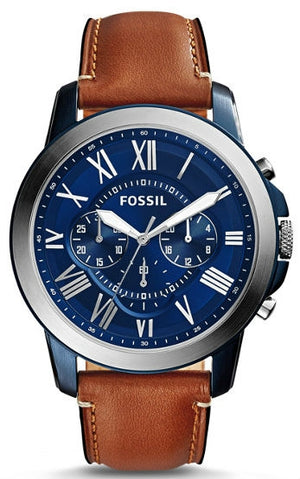 Fossil Grant Chrono Leather FS5151