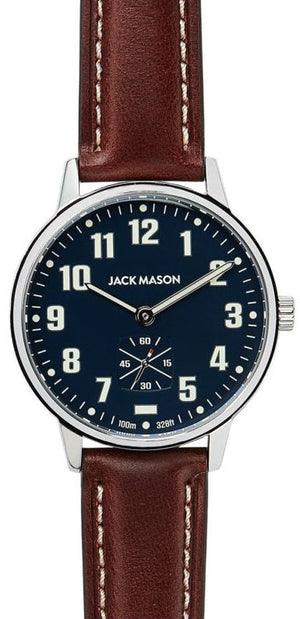 Jack Mason Field Camp Leather 38mm JM-F401-002