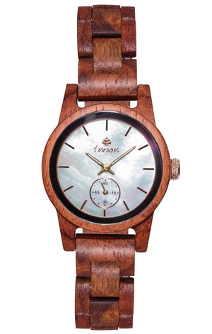Tense Small Hampton Wooden Watch M4700R-MOP