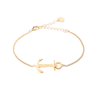 Paul Hewitt Anchor Spirit Bracelet Gold